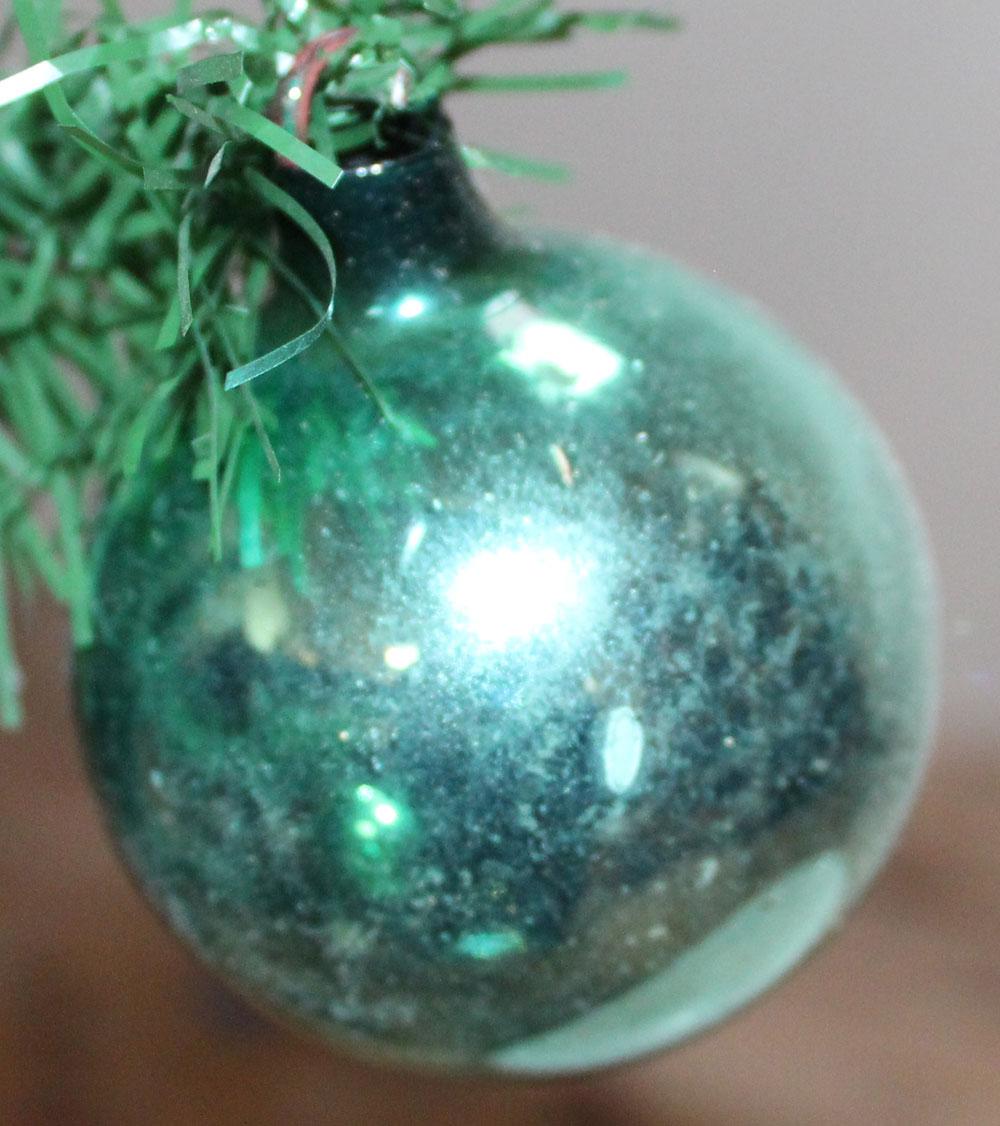 Vintage set van 4 kerstballen ajeko 4 boules de no l christmas decorations - Boule de noel vintage ...