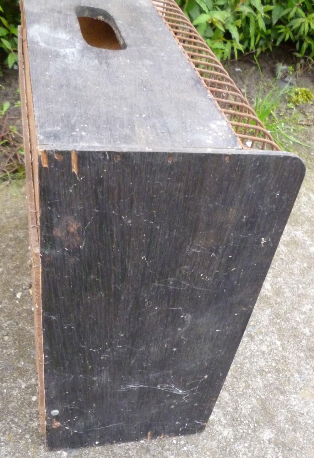 Vintage vogelkooi zwart vieille cage oiseaux noir black for Petite cage a oiseaux decorative